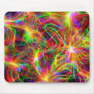 fractal colorido fresco alfombrilla de ratón