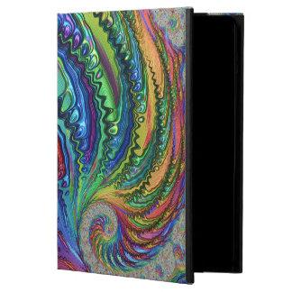 Fractal del remolino del arco iris