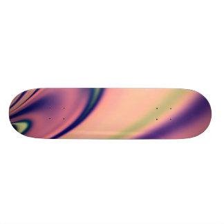 Fractal en colores pastel de los días tabla de patinar