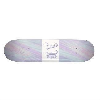 Fractal en colores pastel del modelo - el mar Shel Patín