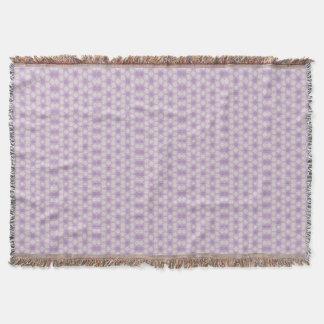 Fractal geométrico de las púrpuras bonitas manta
