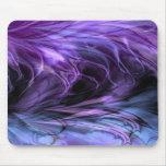 Fractal Mousepad púrpura de mármol Tapete De Raton
