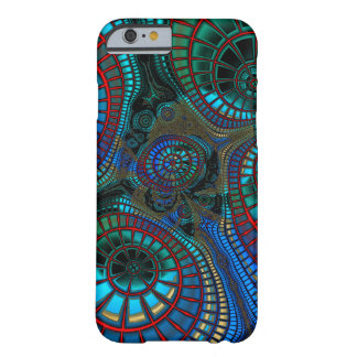 Fractal que agita funda barely there iPhone 6