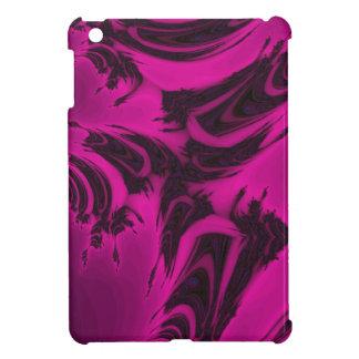 Fractal rosado y negro