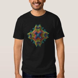 fractal tridimensional camiseta