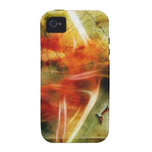 Fractal - vintage Case-Mate iPhone 4 carcasas
