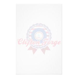 Fragua de Clifton, VA Papeleria De Diseño