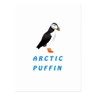 Frailecillo ártico postal