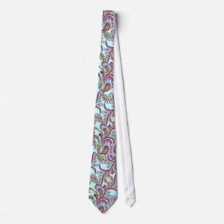 Frambuesa Paisley Corbatas Personalizadas