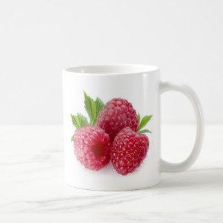 frambuesa taza de café
