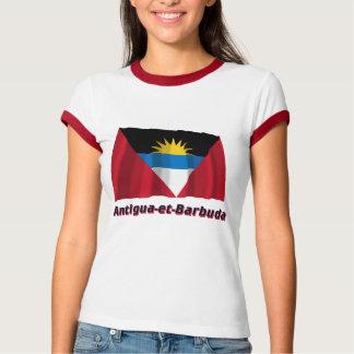 Français de Drapeau Antigua-y-Barbuda avec le nom Camisas