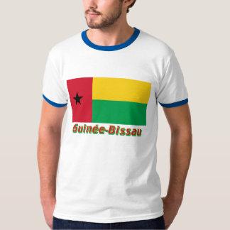 Français de Drapeau Guinée-Bissau avec le nom en Camisas
