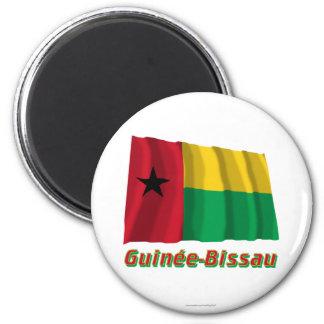 Français de Drapeau Guinée-Bissau avec le nom en Imán Redondo 5 Cm