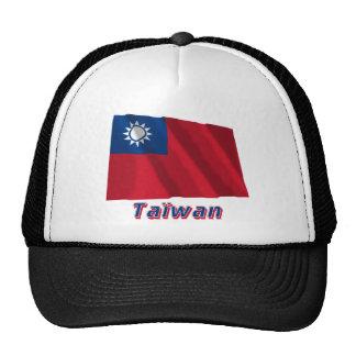 Français de Drapeau Taïwan avec le nom en Gorro