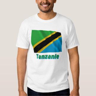 Français de Drapeau Tanzanie avec le nom en Camisas