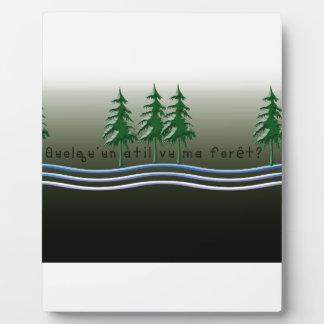 Francés-Bosque Placa Expositora