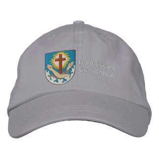 francescano del stemma del cappello gorra de beisbol