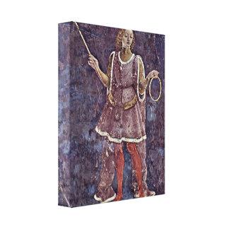 Francesco del Cossa - alegoría de la eficacia Lona Envuelta Para Galerias