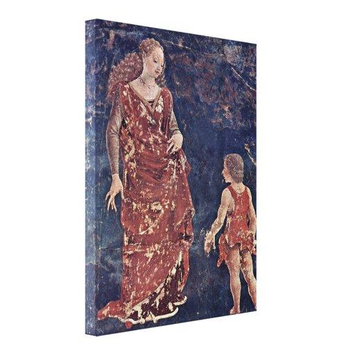 Francesco del Cossa - alegoría de la fertilidad Impresiones En Lona