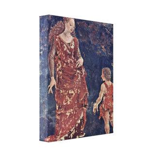 Francesco del Cossa - alegoría de la fertilidad Impresión De Lienzo