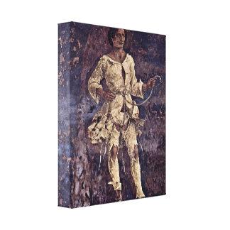 Francesco del Cossa - alegoría de la holgazanería Impresiones En Lienzo Estiradas