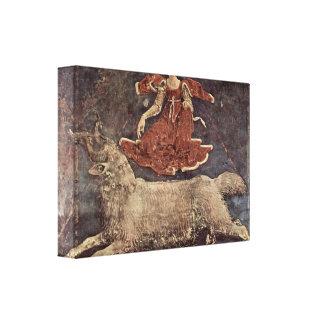 Francesco del Cossa - alegoría de la primavera Impresión En Lona Estirada