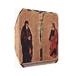 Francesco del Cossa - crucifixión Tondo Lienzo Envuelto Para Galerias