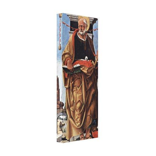 Francesco del Cossa - San Pedro Impresiones De Lienzo