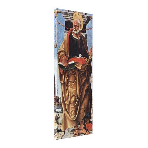Francesco del Cossa - San Pedro Impresiones En Lienzo Estiradas
