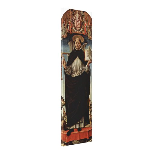 Francesco del Cossa - San Vicente Ferrer Lona Envuelta Para Galerias