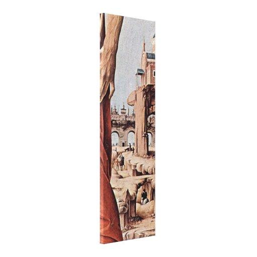 Francesco del Cossa - St John el BaptistDetail Impresiones En Lona