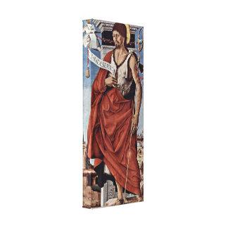 Francesco del Cossa - St John el Bautista Impresión En Lona