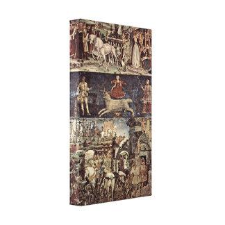 Francesco del Cossa - Triumph de Minerva Lona Estirada Galerías