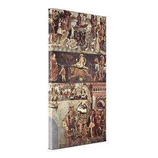 Francesco del Cossa - Triumph de Venus Impresion En Lona