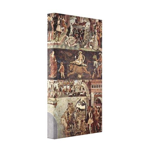Francesco del Cossa - Triumph de Venus Lona Envuelta Para Galerias