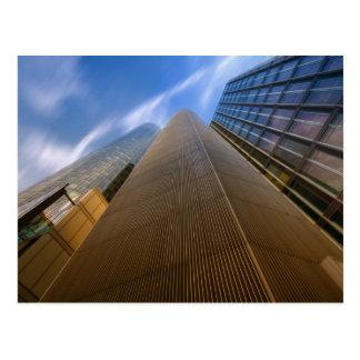 Francfort - postal del rascacielos