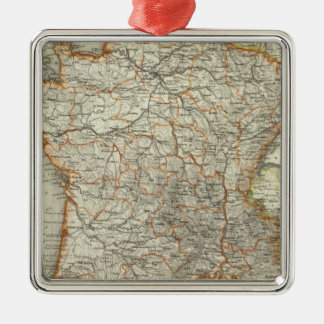 Francia 5 ornamentos de reyes