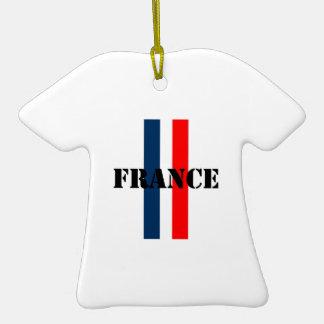 Francia Adorno De Cerámica En Forma De Camiseta