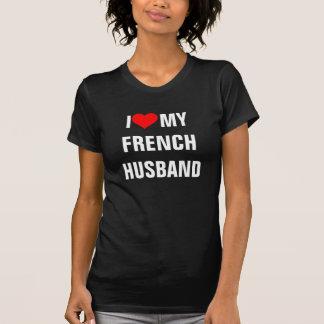 """Francia: """"Amo camiseta de mi marido francés """""""
