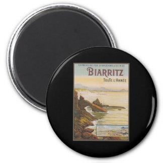 Francia Biarritz Imán Redondo 5 Cm