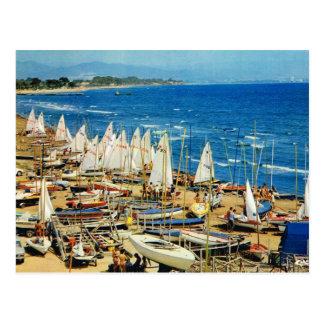 Francia, Hyeres, Var, puerto y puerto deportivo Postal