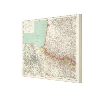 Francia meridional lienzo envuelto para galerías