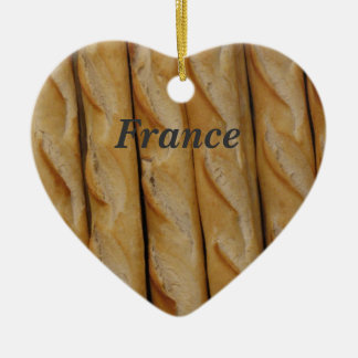 Francia - pan francés ornamentos de reyes magos