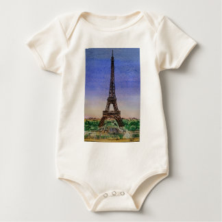 Francia-París-Eiffel-torre-ropa Body Para Bebé
