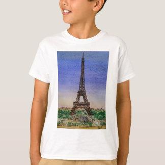 Francia-París-Eiffel-torre-ropa Camiseta