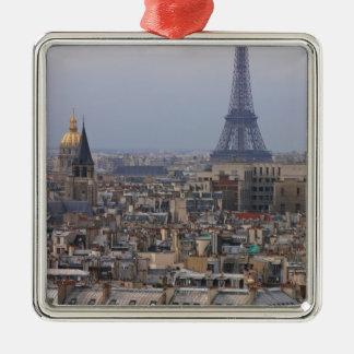 Francia, París, paisaje urbano con la torre Eiffel Adorno Para Reyes