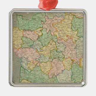 Francia, provincias 2 adornos de navidad