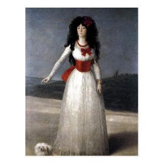 ¿Francisco de Goya Espa? ol: Duquesa de Alba Te 17 Postal