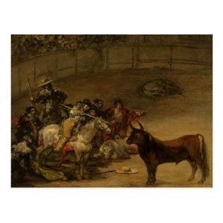Francisco Goya - corrida, Suerte de Varas Postal