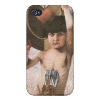 Francisco von Stuck - Amor iPhone 4 Carcasa